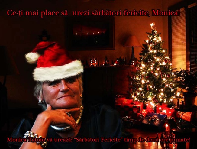 Spiritul Crăciunului ne-a intrat in case. Cu forța.
